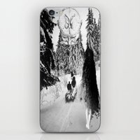 pagan iPhone & iPod Skins featuring Pagan forest by Kristina Haritonova