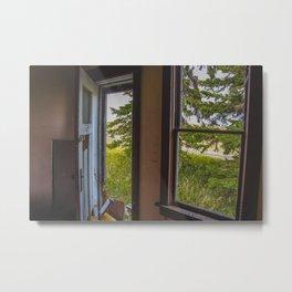 The Yellow House, Arena, North Dakota 6 Metal Print