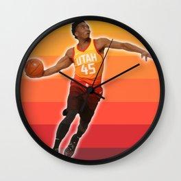 Donovan Mitchell Wall Clock