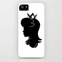 Princess Peach - Silhouette iPhone Case