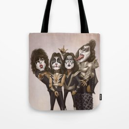 Rock and Roll All Nite Tote Bag
