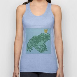 the Frog Prince Unisex Tank Top