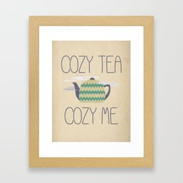 Cozy Tea Framed Art Print