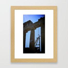 """Something Ancient, Something New"" Framed Art Print"