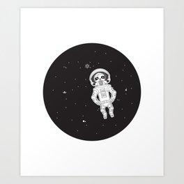 Drifting to eternity Art Print