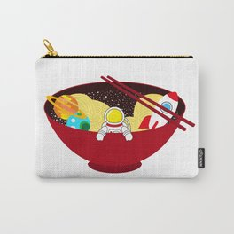 Space Odyssey Ramen | Astronaut Ramen | Bowl of Space Ramen | Galaxy in a Bowl | pulps of wood Carry-All Pouch