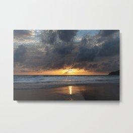 Sunset on Karon Beach Metal Print