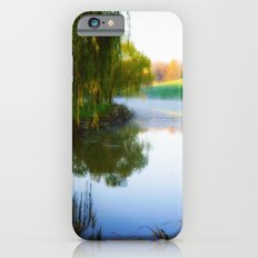 Morning mist on Schnormeier pond iPhone 6s Slim Case