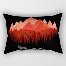 WOLFS 777 Rectangular Pillow