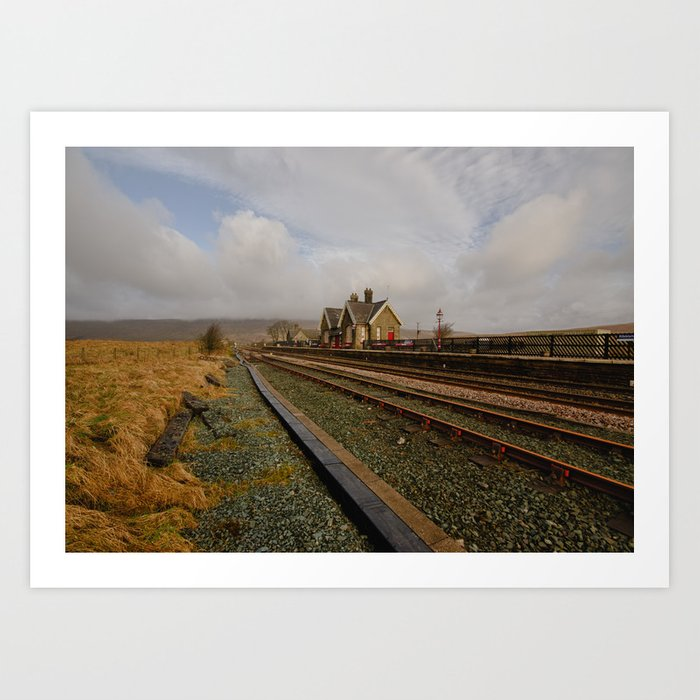 Ribblehead Station Art Print