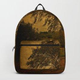 A Single Birch Tree Backpack