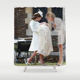 Princess Diana - Heavenly Heels  Shower Curtain