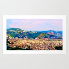 Italian Cityscape Art Print