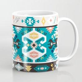 Tribal chic seamless colorful patterns Coffee Mug