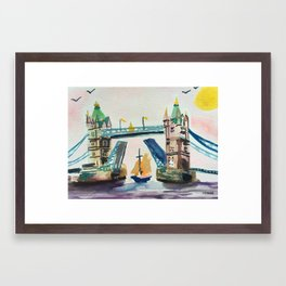 Tower Bridge Framed Art Print