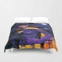 batgirl Duvet Covers featuring BATGIRL 1966 by ROY  AIUTO