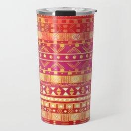 Inspired Aztec Pattern Travel Mug