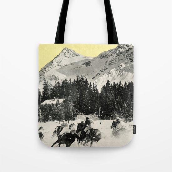 Winter Races Tote Bag
