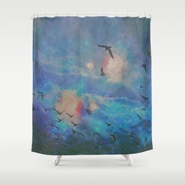 the folks Shower Curtain
