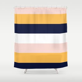 Color Stripe _004 Shower Curtain