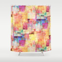 Warm Summer Feels Shower Curtain