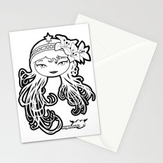 Lybee Black & White Stationery Cards