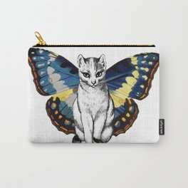 Butterfly Cat Carry-All Pouch