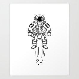Cosmic Stranger 1 Art Print