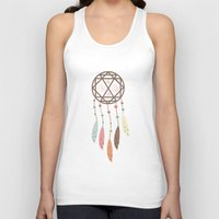 dream catcher Tank Tops featuring Dream Catcher by 83 Oranges™