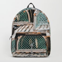 Readying for the lobster season Backpack