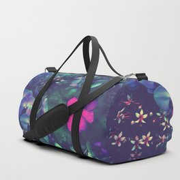 Gathering of Flowers - [Purple Version] Duffle Bag
