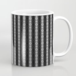 Abstract Tribal Zebra Pattern Coffee Mug