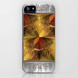 Fall Colours Abstract iPhone Case