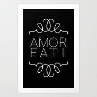 Amor Fati Art Print