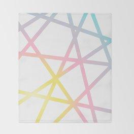Rainbow x Unicorn Color Throw Blanket