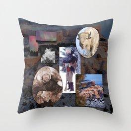 Environmental Self-portrait  Throw Pillow