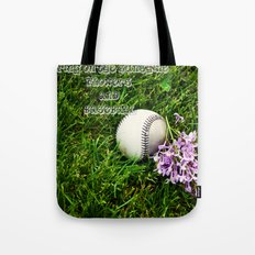 First Day of Spring Tote Bag