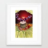 bath Framed Art Prints featuring Bath by Devorah Greenberg