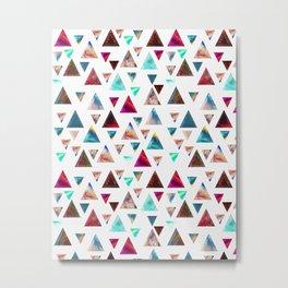 Multicolor Trianspace Metal Print