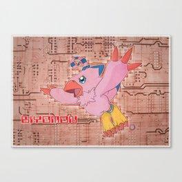 Digimon Adventure - Biyomon Canvas Print
