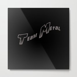 Team Metal Swamp Death Metal Print