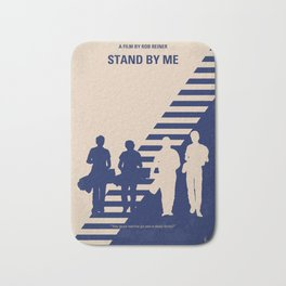 No429 My Stand by me minimal movie poster Bath Mat