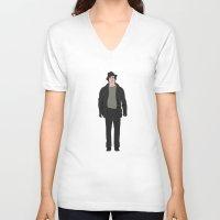 rocky V-neck T-shirts featuring Rocky - Rocky Balboa by V.L4B