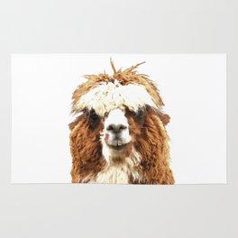 Alpaca Portrait Rug