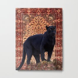 Bagheera - Rudyard Kiplings Jungle Book Metal Print