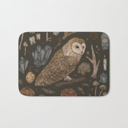 Harvest Owl Bath Mat