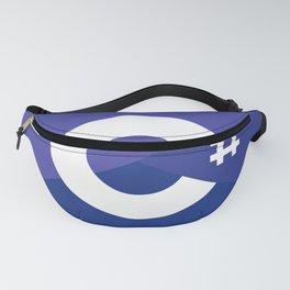 c# developers logo dot net Fanny Pack