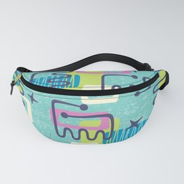 Mid Century Modern Abstract Pattern 735 Fanny Pack