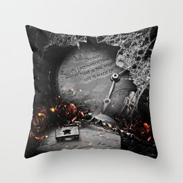 Do Not Squander Time Throw Pillow