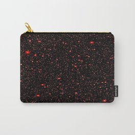 Stars Amber Red Carry-All Pouch